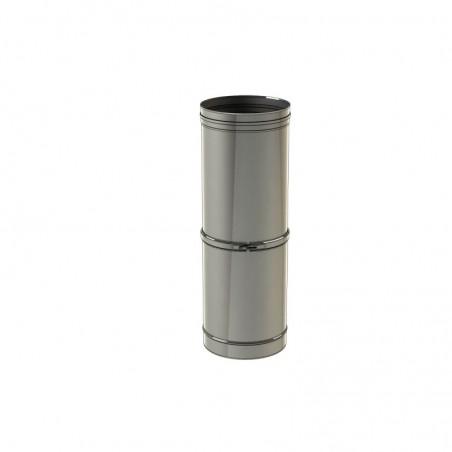 élément droit reglable 560-920 mm - conduit de fumée simple paroi