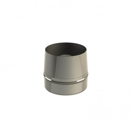 cône de finition - conduit de fumée simple paroi