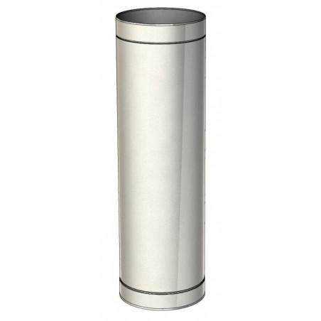 élément droit 1000 mm - conduit de ventilation haute simple paroi