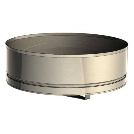 tampon bas de conduit - conduit de ventilation haute simple paroi