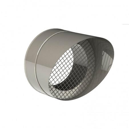sortie sifflet grille - conduit de ventilation haute simple paroi