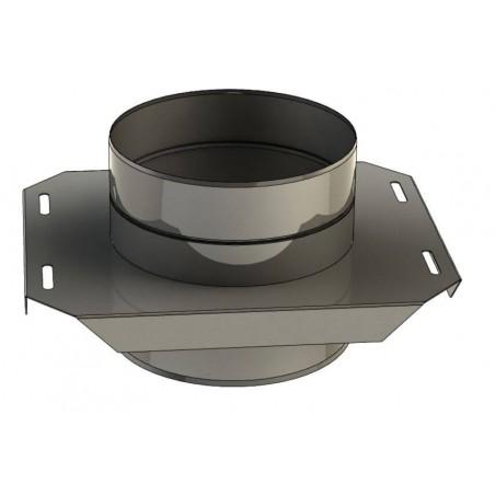 plaque de support réglable - conduit de ventilation haute simple paroi