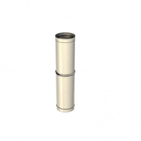 élément droit réglable 930-1500 mm - conduit collectif concentrique neuf
