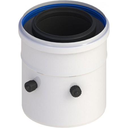 élément droit 250 mm - conduit concentrique pour chaudière
