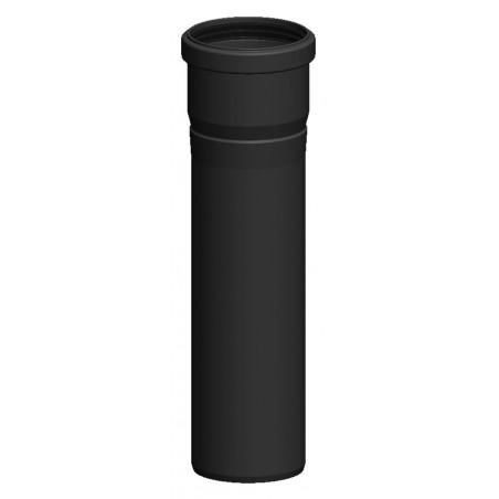 élément droit 500 mm - conduit de fumée condensation simple paroi