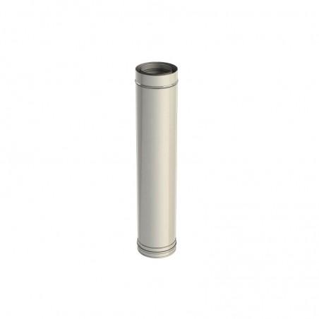 élément droit 1000 mm - conduit de fumée concentrique pour poêle à pellet
